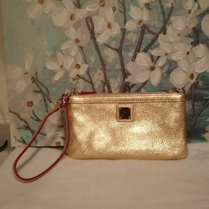 Large Leather wristlet